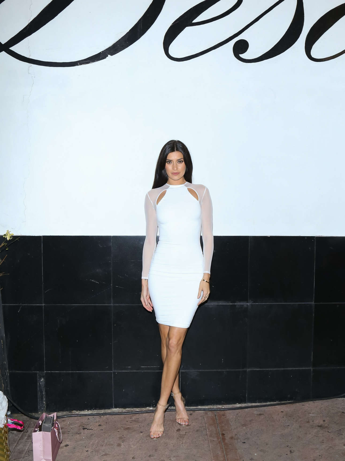 Nicole Williams at a fundraising event at Beso in Los Angeles