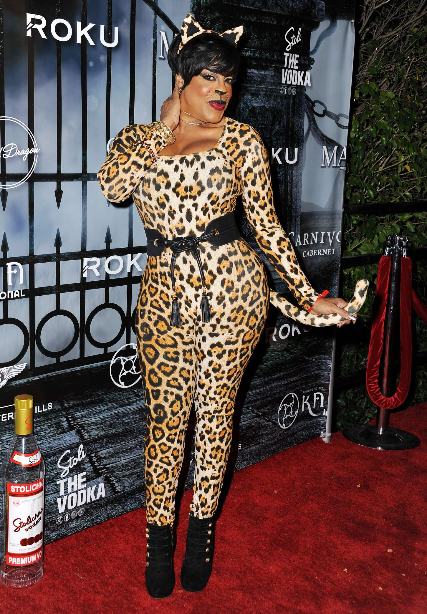 Niecy Nash MAXIM Magazines Official Halloween Party in Beverly Hills