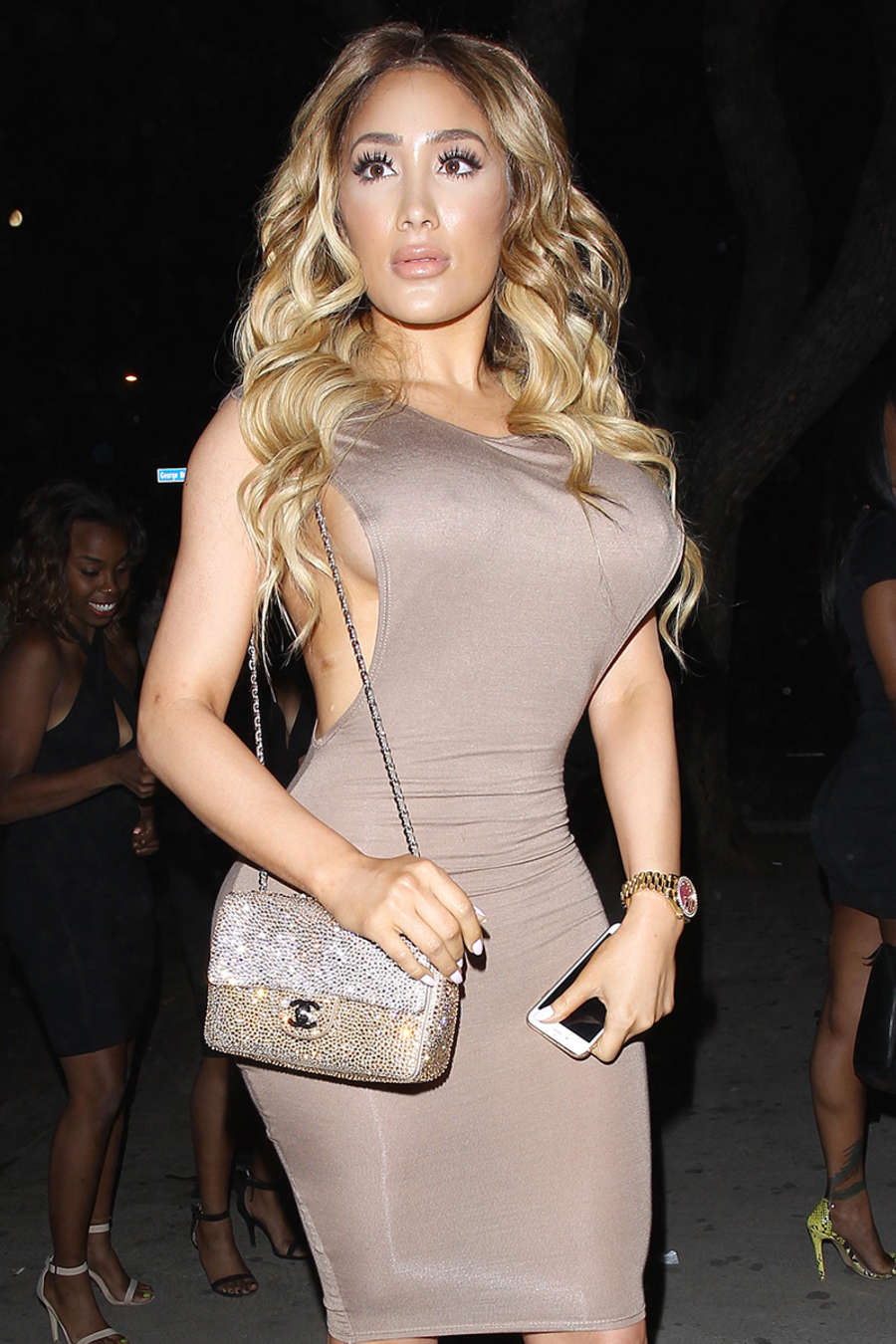 Nikki Mudarris Night Out in Los Angeles
