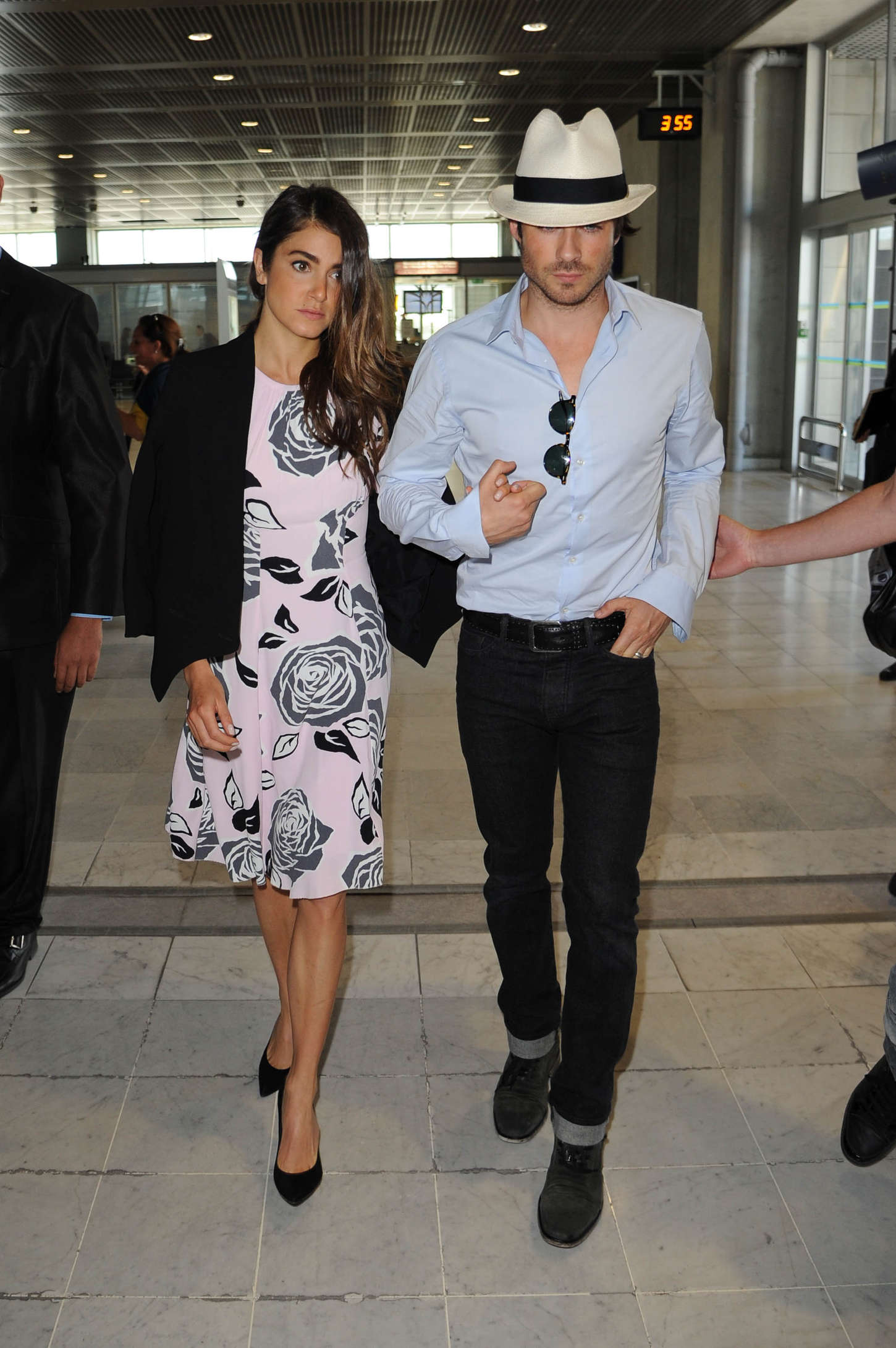Nikki Reed Airport in Cannes
