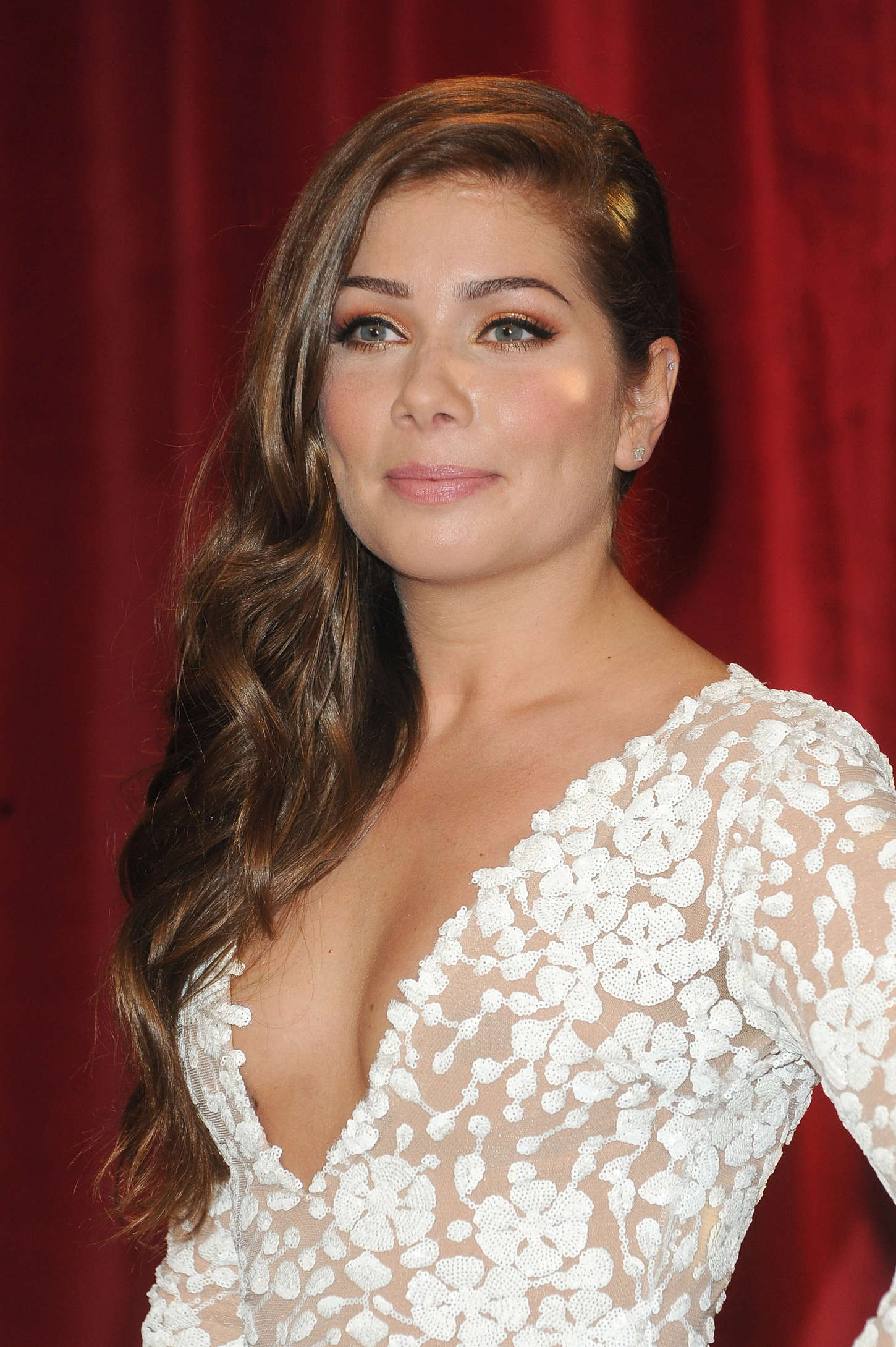 Nikki Sanderson British Soap Awards in Manchester