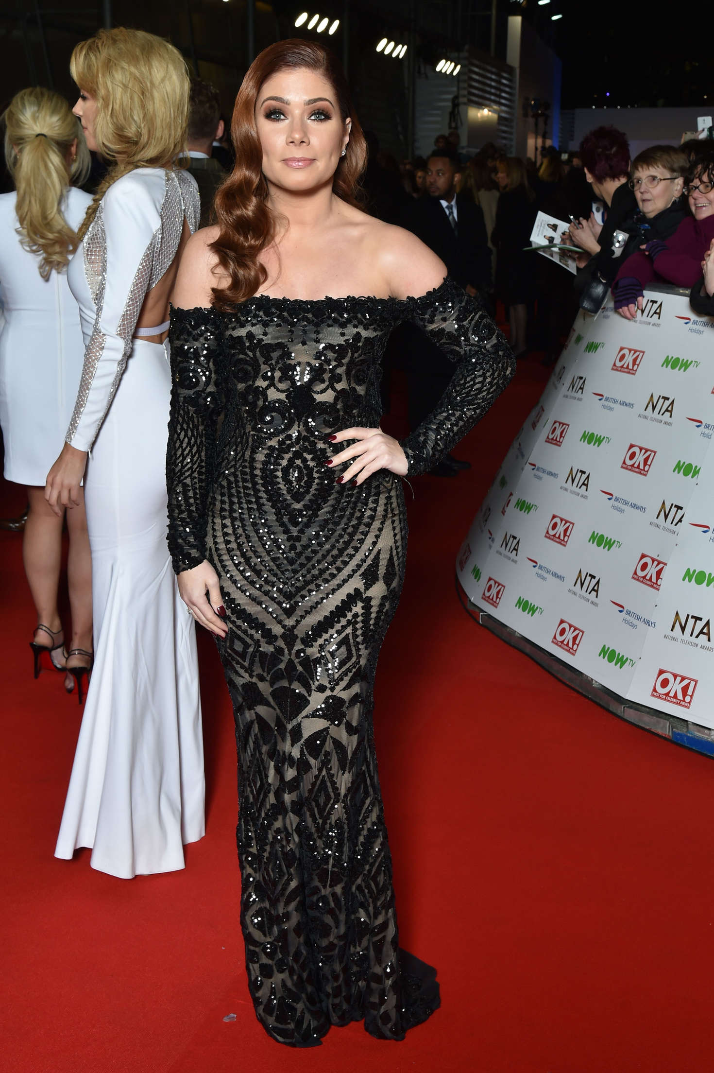 Nikki Sanderson National Television Awards in London