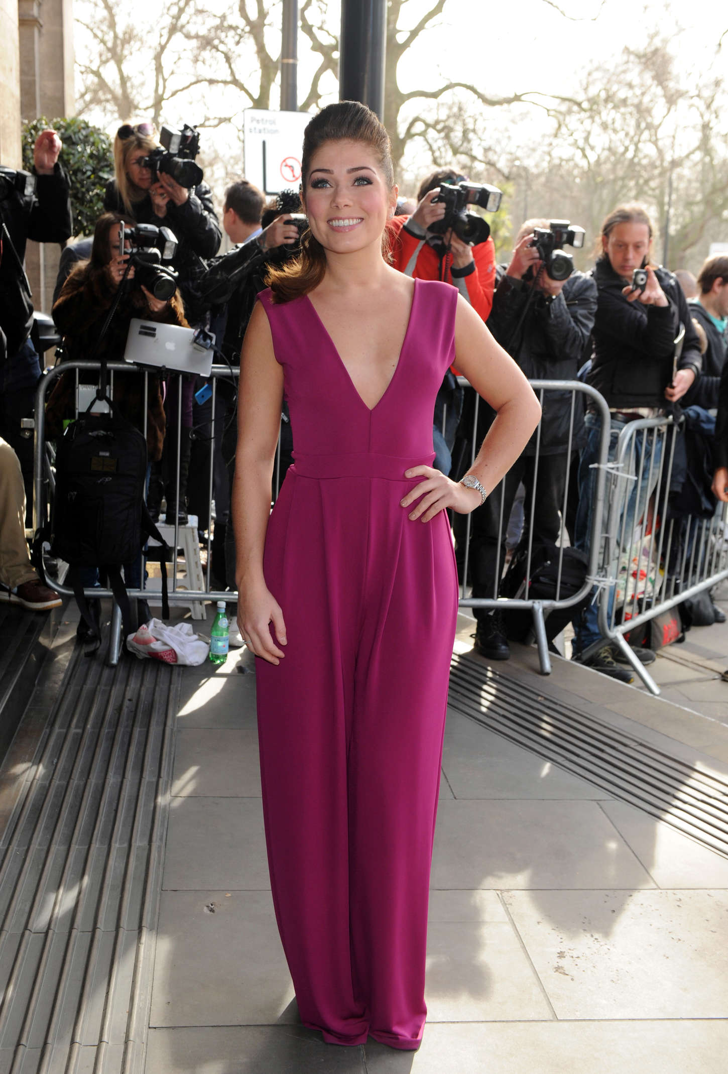 Nikki Sanderson TRIC Awards in London