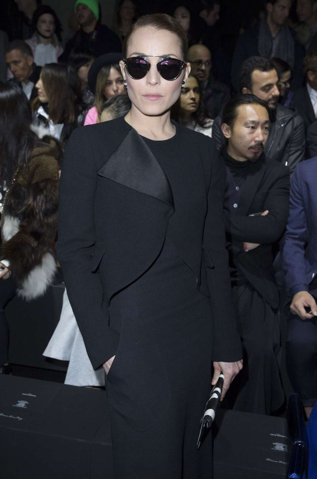 Noomi Rapace at Dior Menswear Show in Paris
