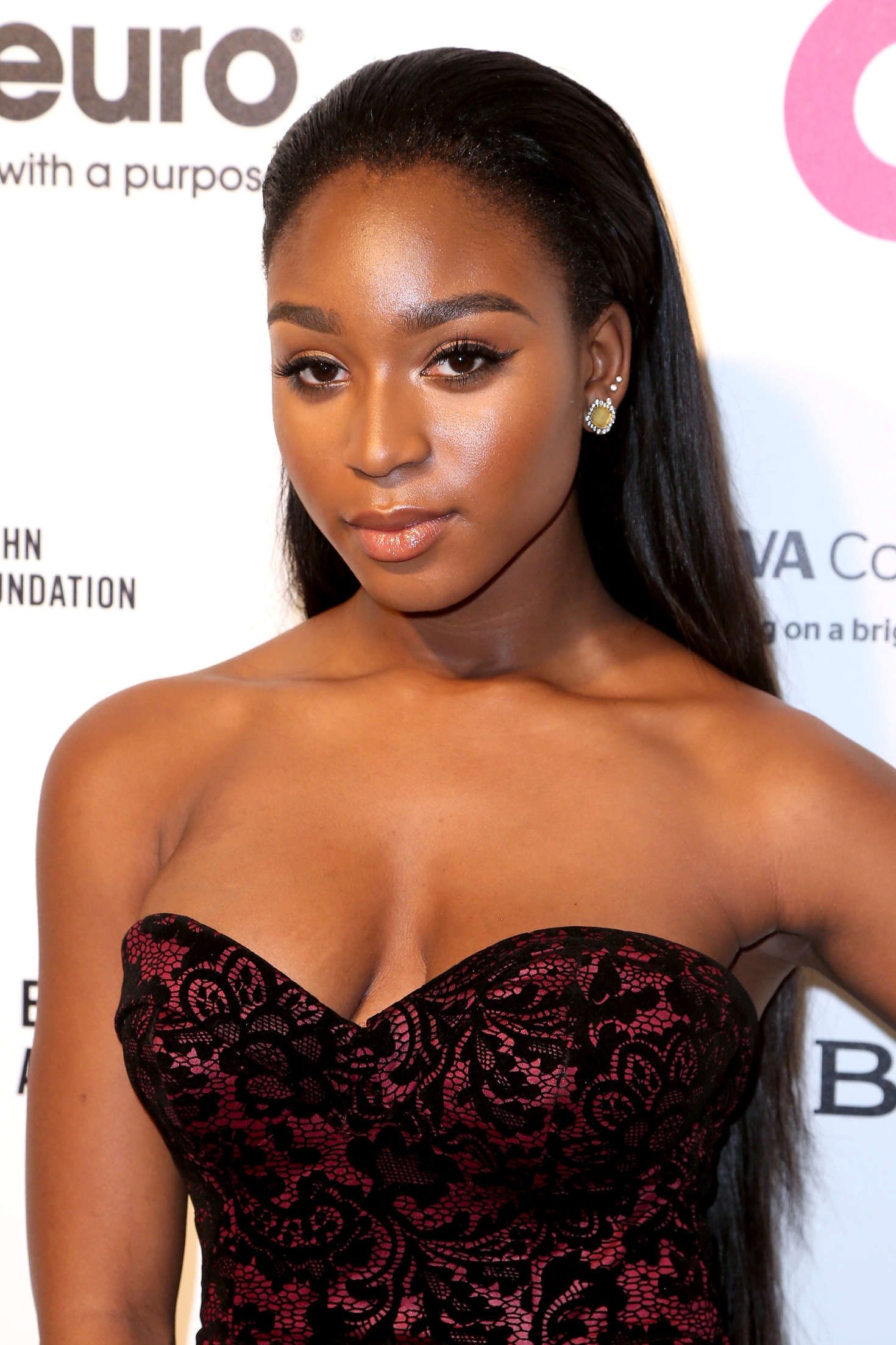 Normani Kordei Elton John AIDS Foundations Oscar Viewing Party in West Hollywood