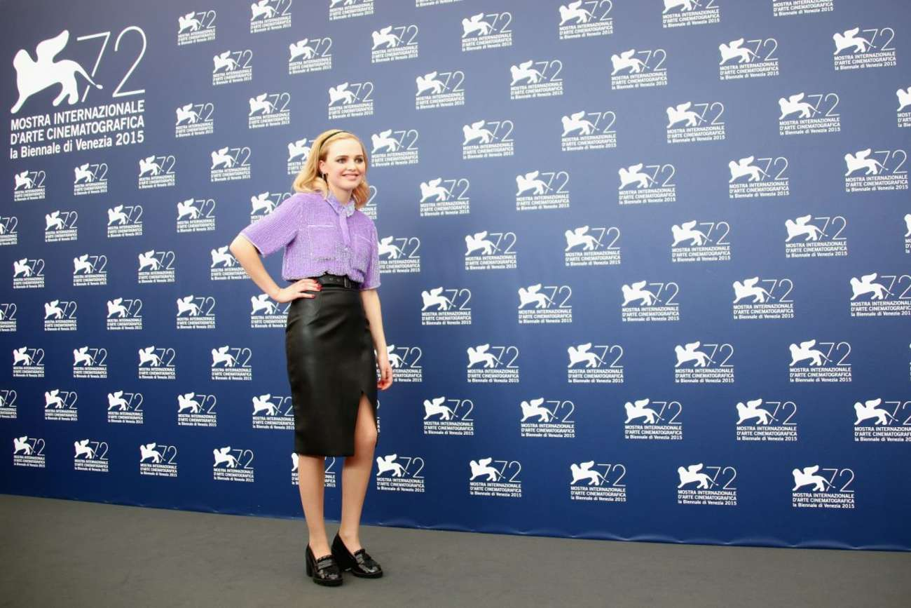 Odessa Young Looking For Grace Photocall at Venice Film Festival