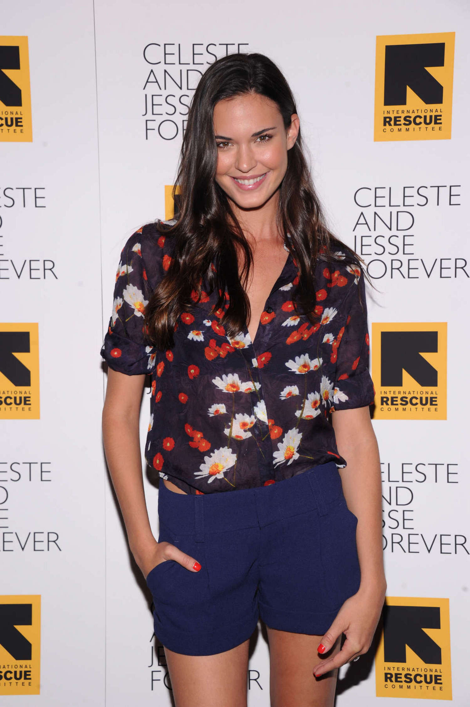 Odette Annable at Celeste And Jesse Forever Premiere in New York