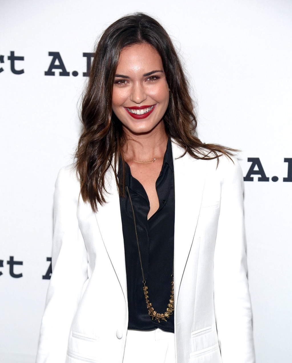 Odette Annable Project A.L.S. anniversary party in New York