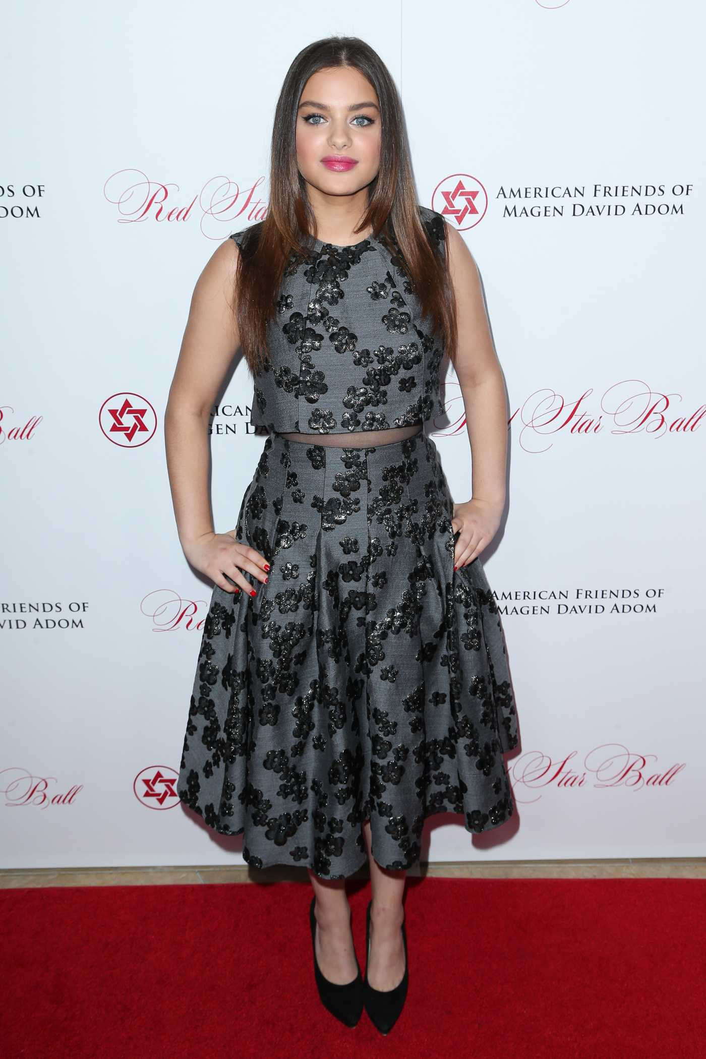 Odeya Rush Annual Red Star Ball at The Beverly Hilton Hotel in Beverly Hills