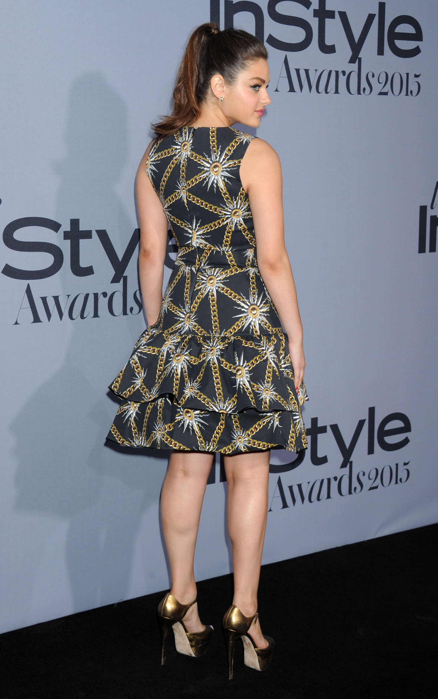 Odeya Rush Instyle Awards in Los Angeles