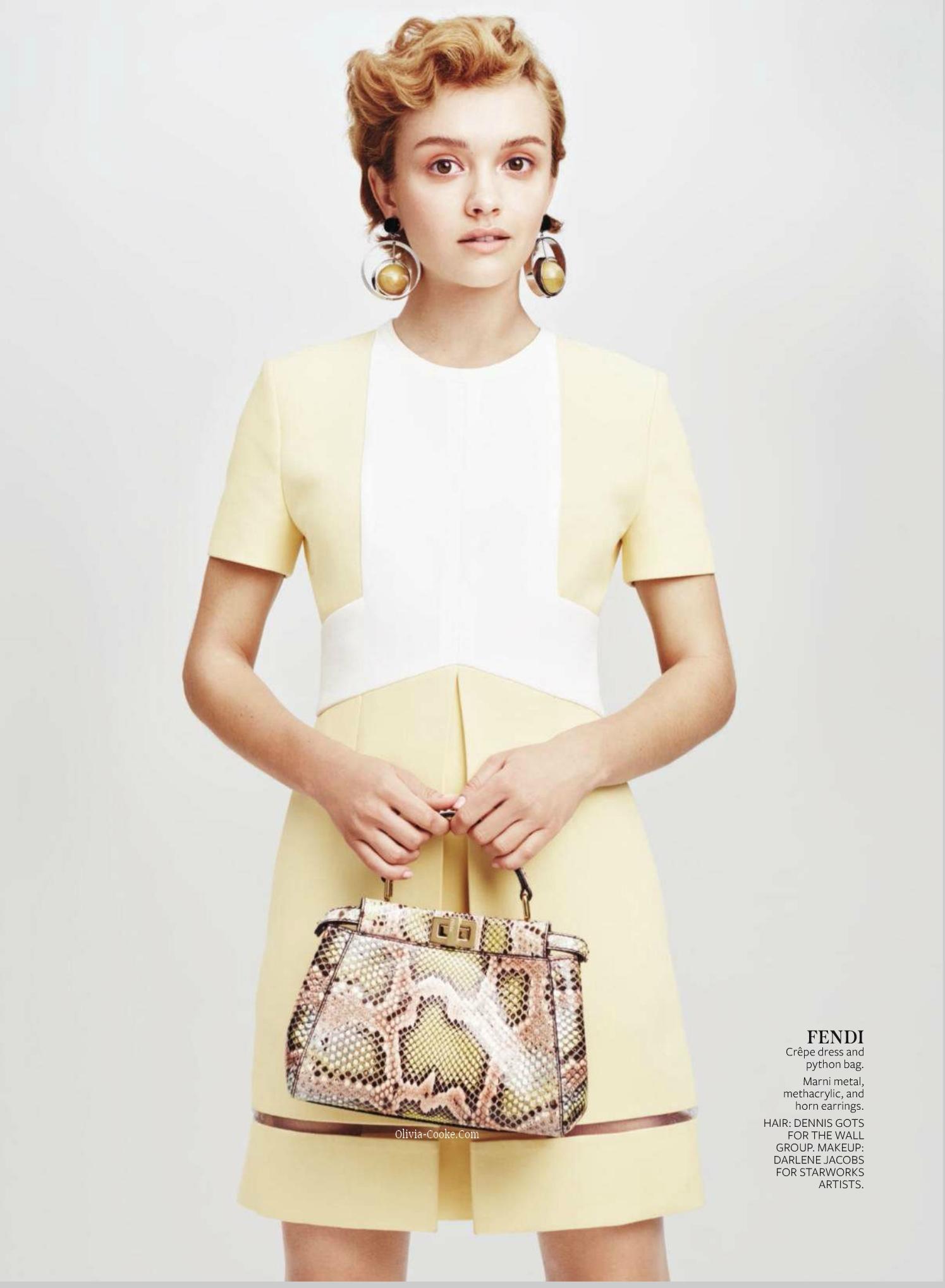 Olivia Cooke InStyle Magazine