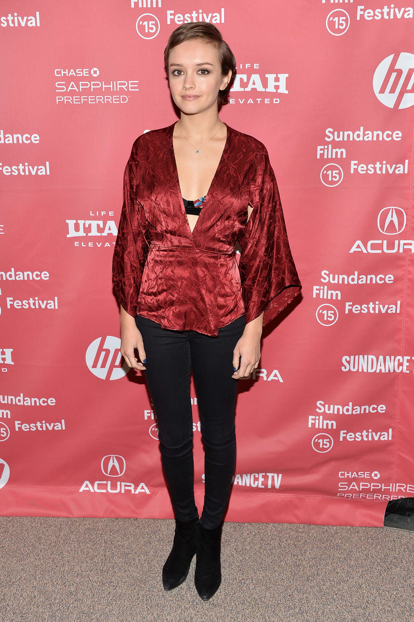 Olivia Cooke Me Earl the Dying Girl Premiere at Sundance Film Festival in Park City
