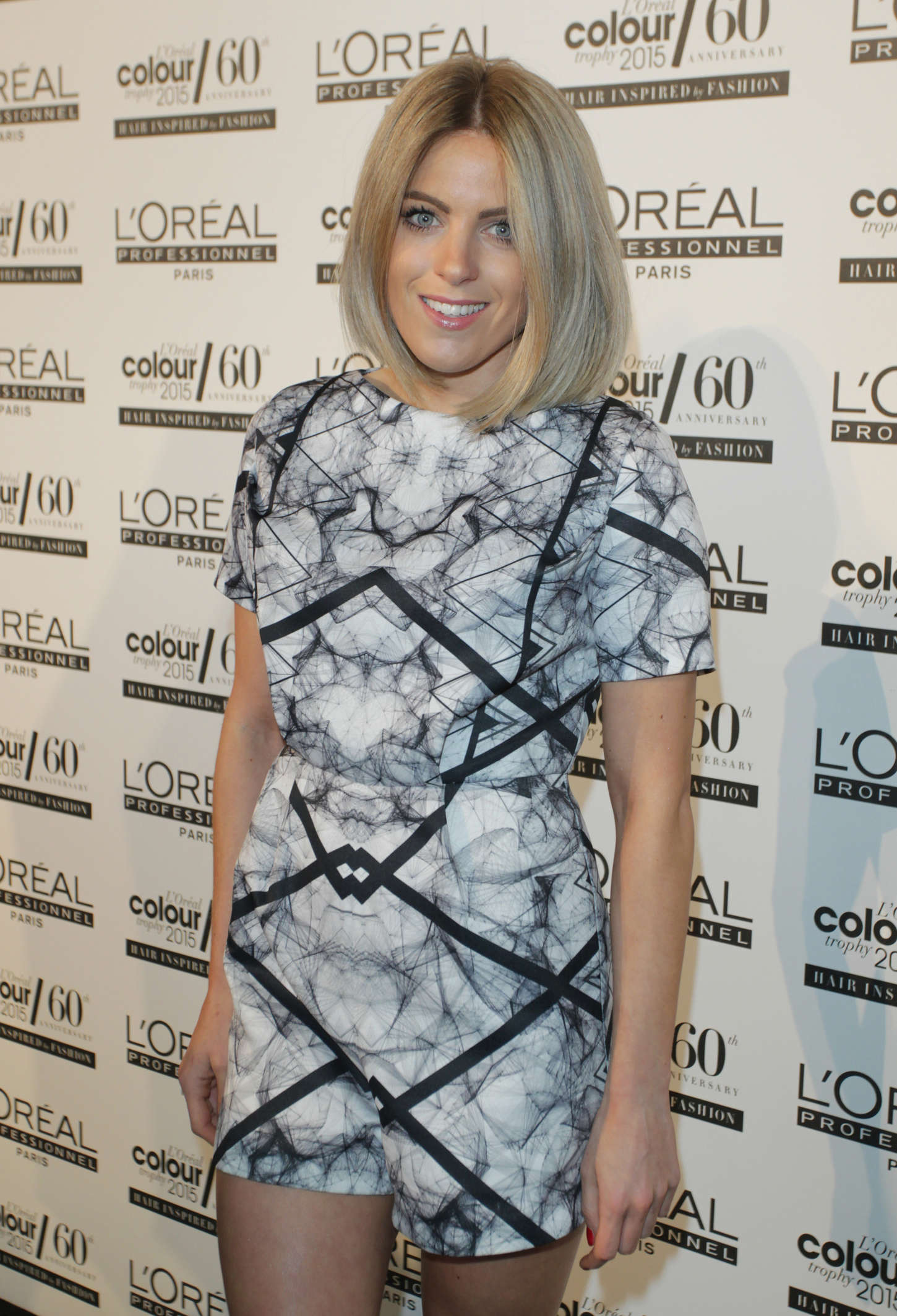 Olivia Cox LOreal Colour Trophy Awards Anniversary in London