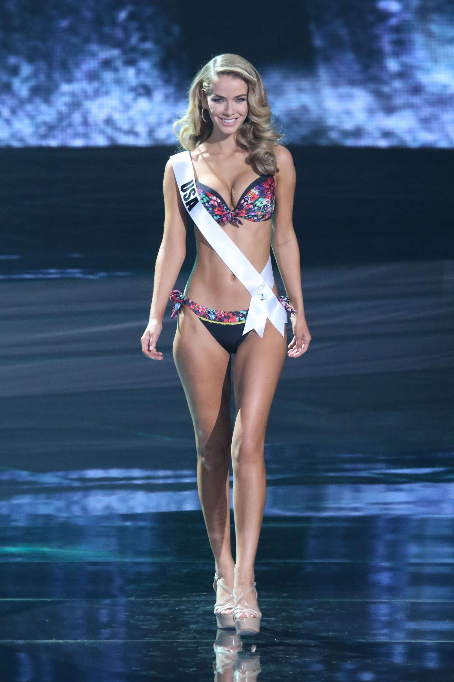 Olivia Jordan Miss Universe Premlinary Round in Las Vegas