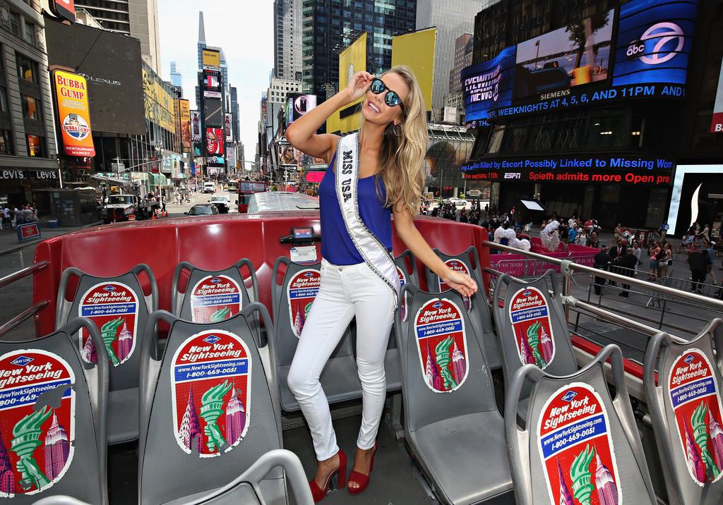 Olivia Jordan Miss USA New York Media Tour in New York City