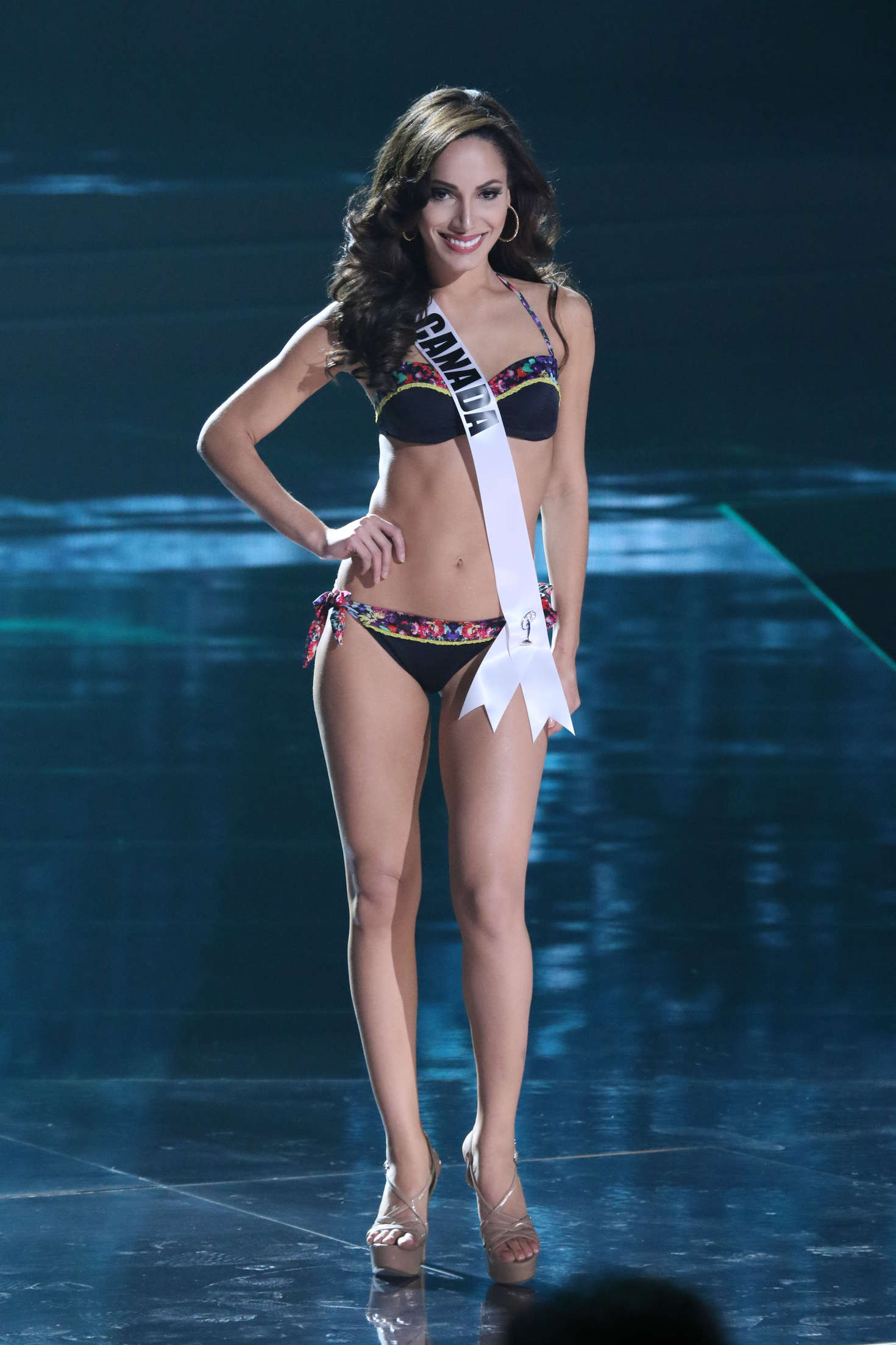 Paola Nunez Miss Universe Preliminary Round in Las Vegas