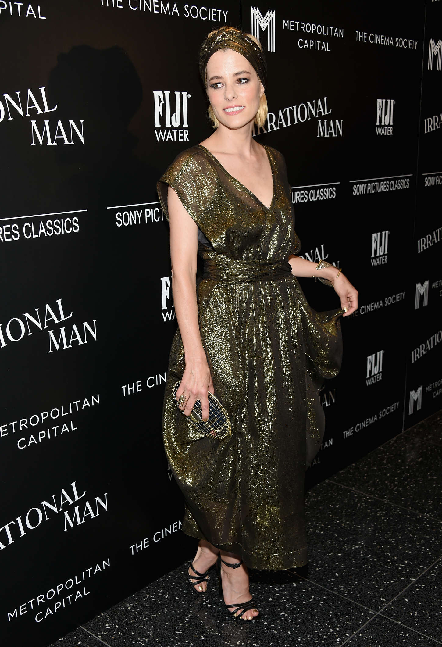 Parker Posey Irrational Man Premiere in New York