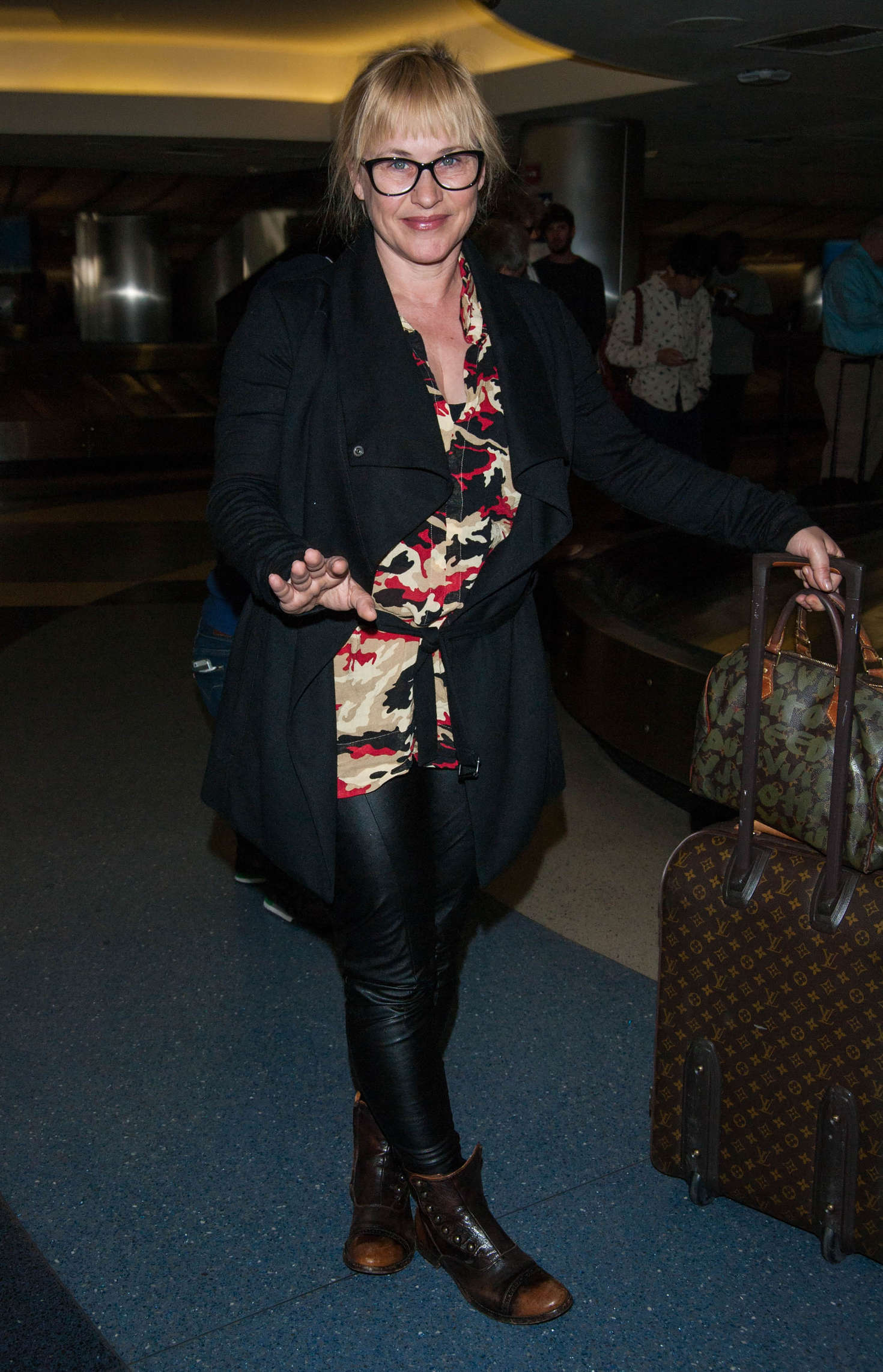 Patricia Arquette at LAX Airport in Los Angeles