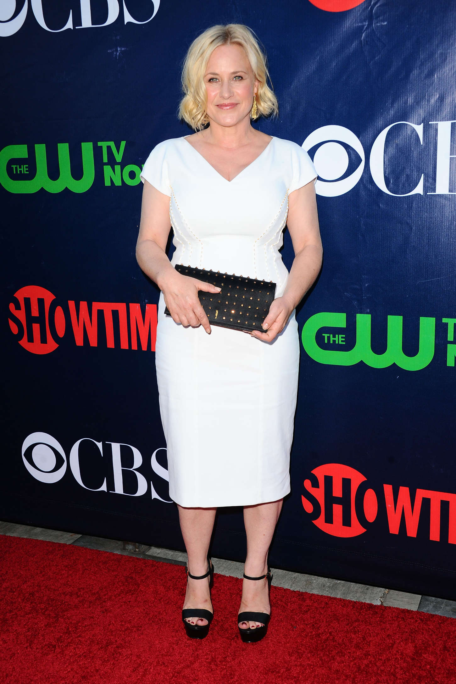 Patricia Arquette CBS CW and Showtime TCA Summer Press Tour Party in Los Angeles