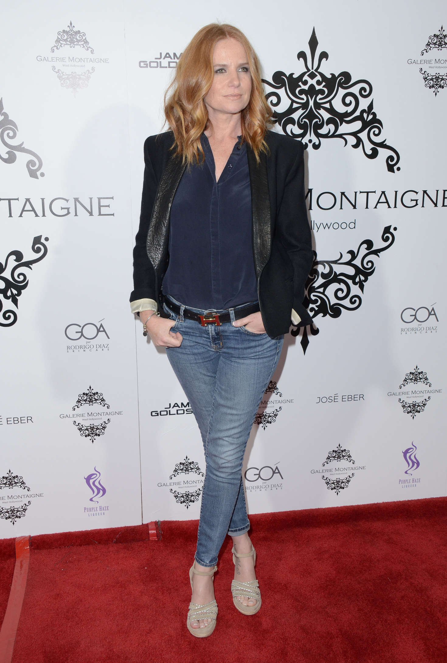 Patsy Palmer Galerie Montaigne Opening in Los Angeles