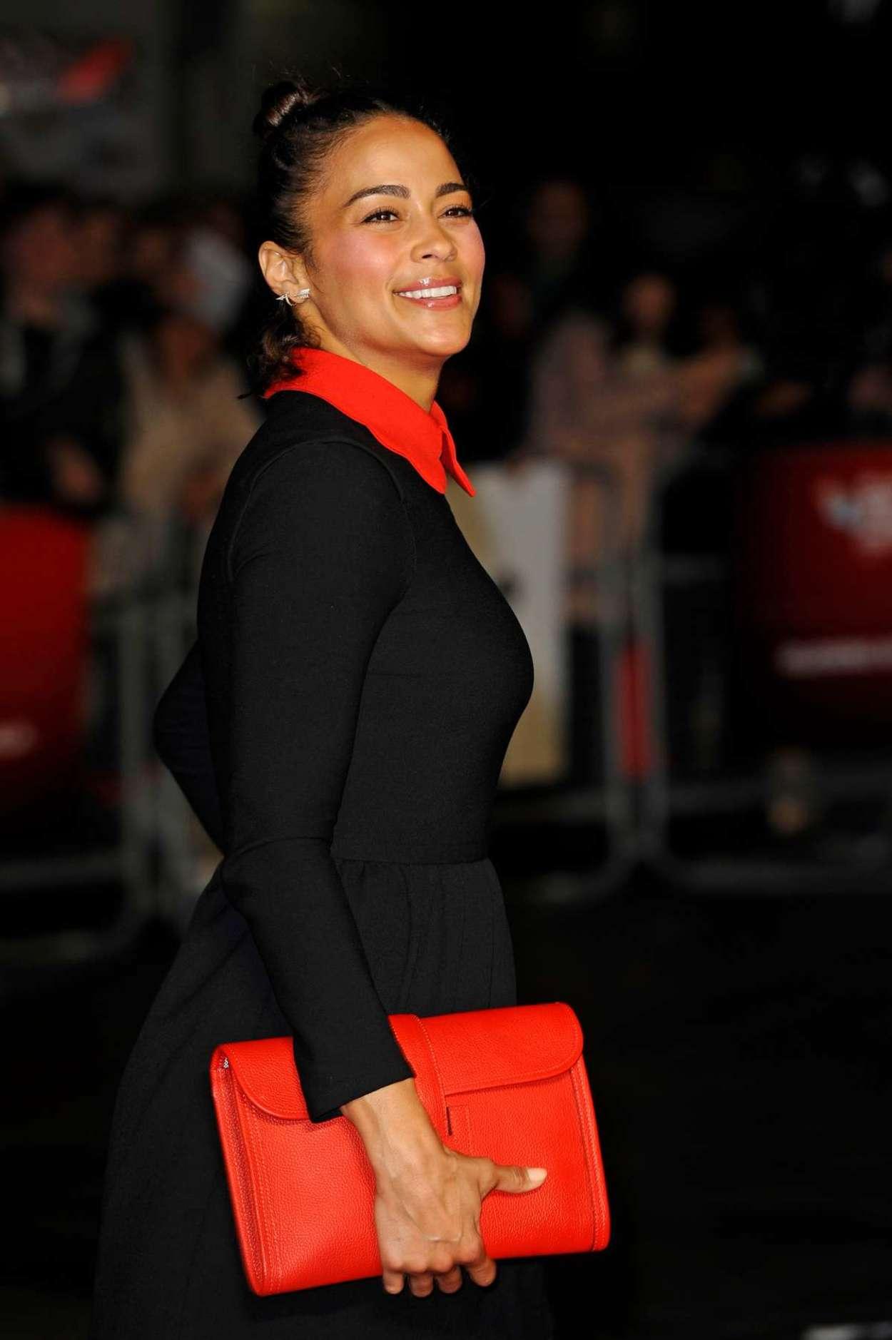 Paula Patton Steve Jobs Premiere and Closing Gala of BFI London FF