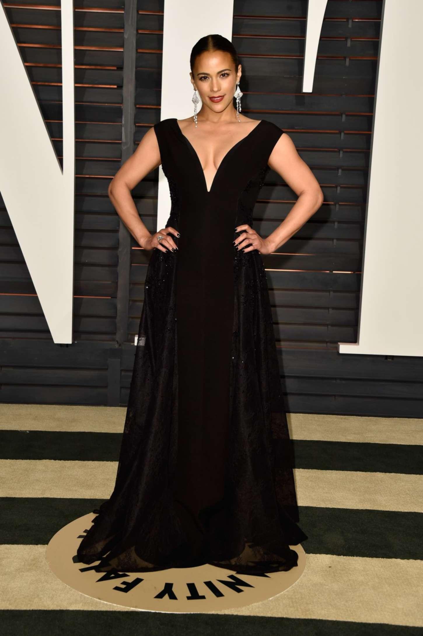 Paula Patton Vanity Fair Oscar Party in Hollywood
