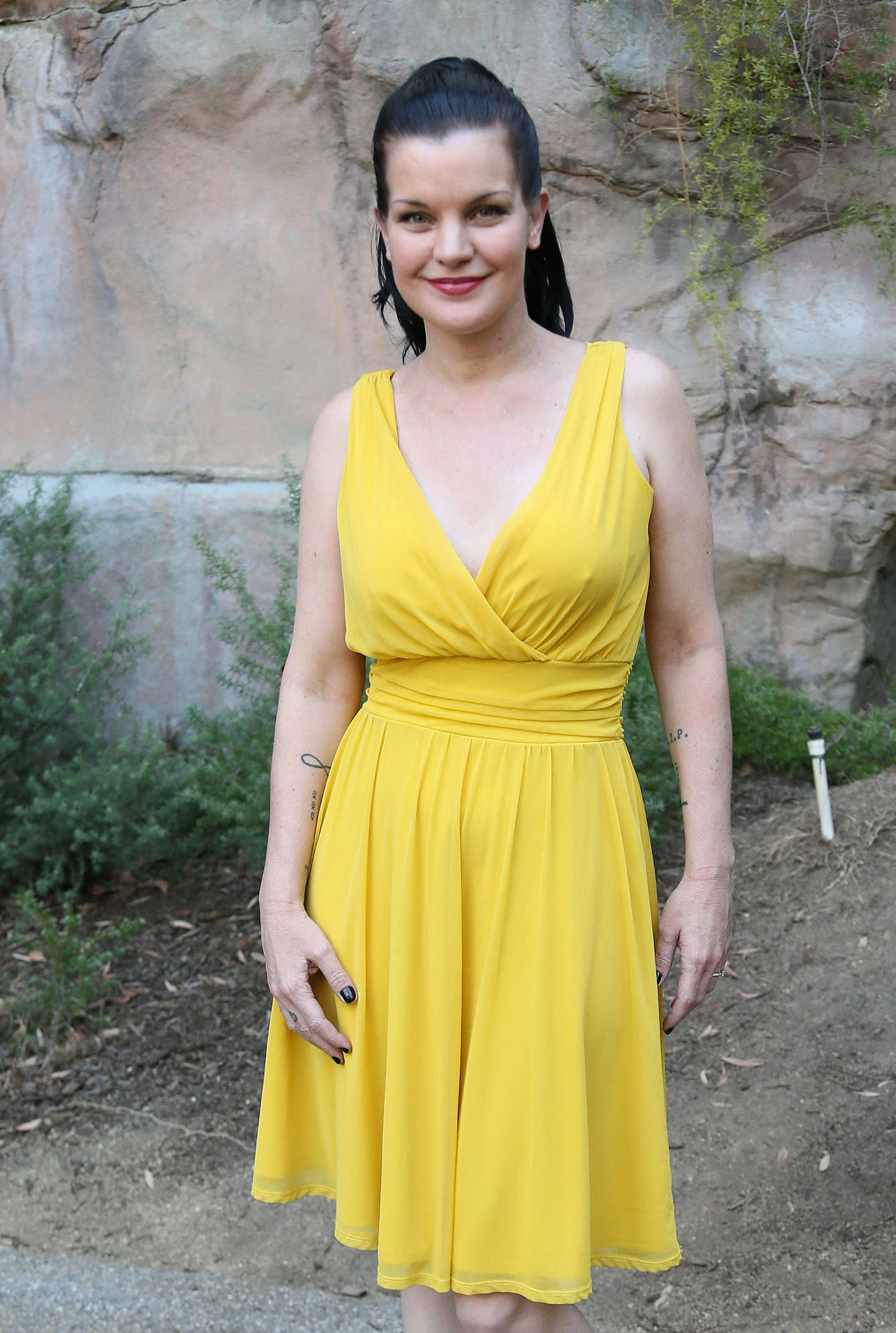 Pauley Perrette GLAZA Annual Beastly Ball in Los Angeles