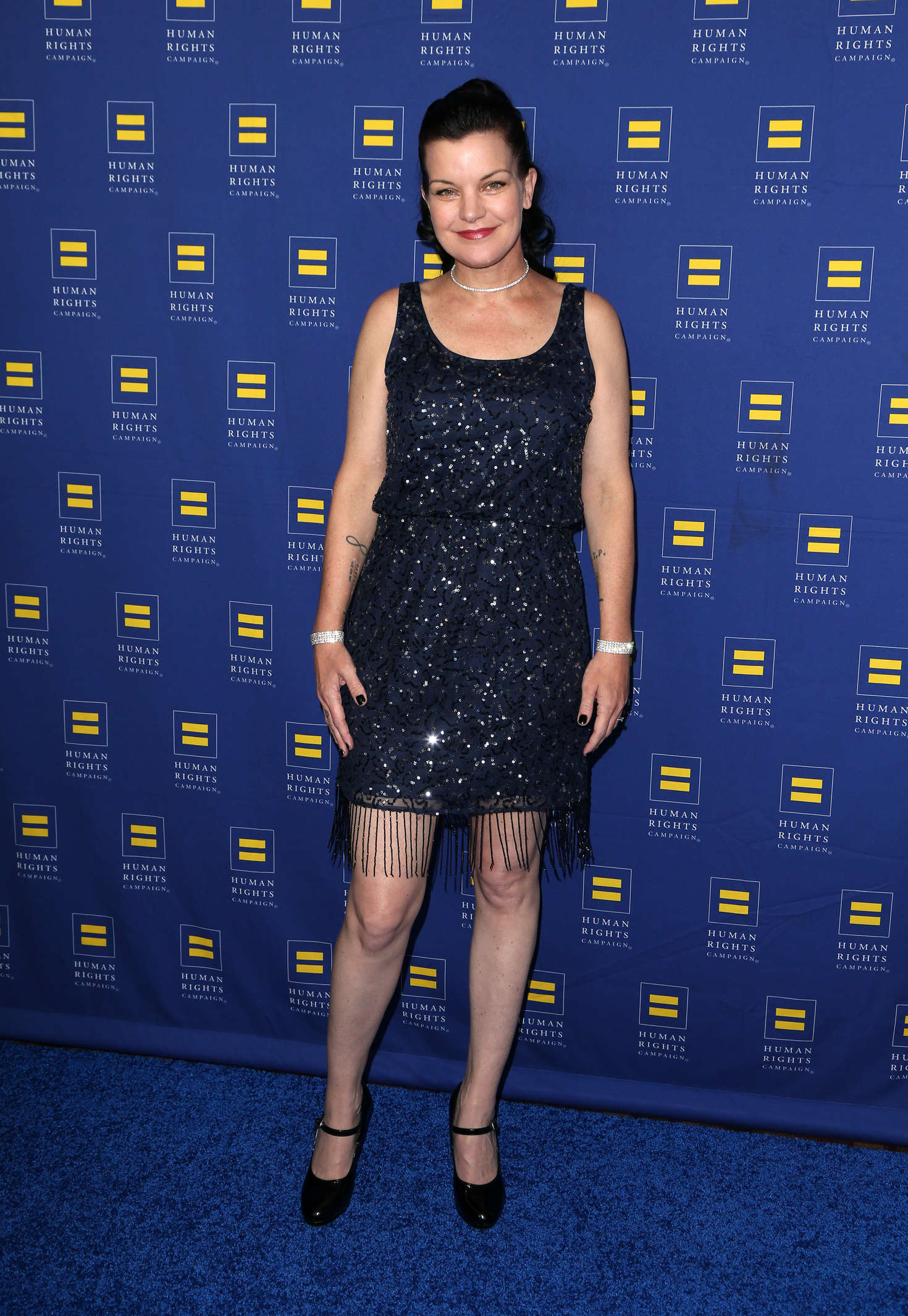 Pauley Perrette Human Rights Campaign Gala Dinner in Los Angeles