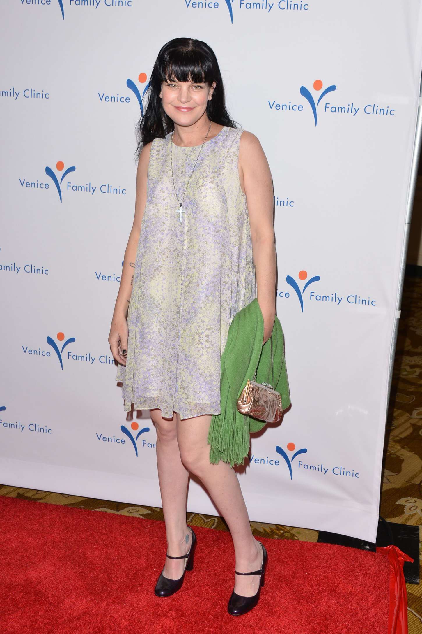 Pauley Perrette Venice Family Clinics Silver Circle Gala in Beverly Hills