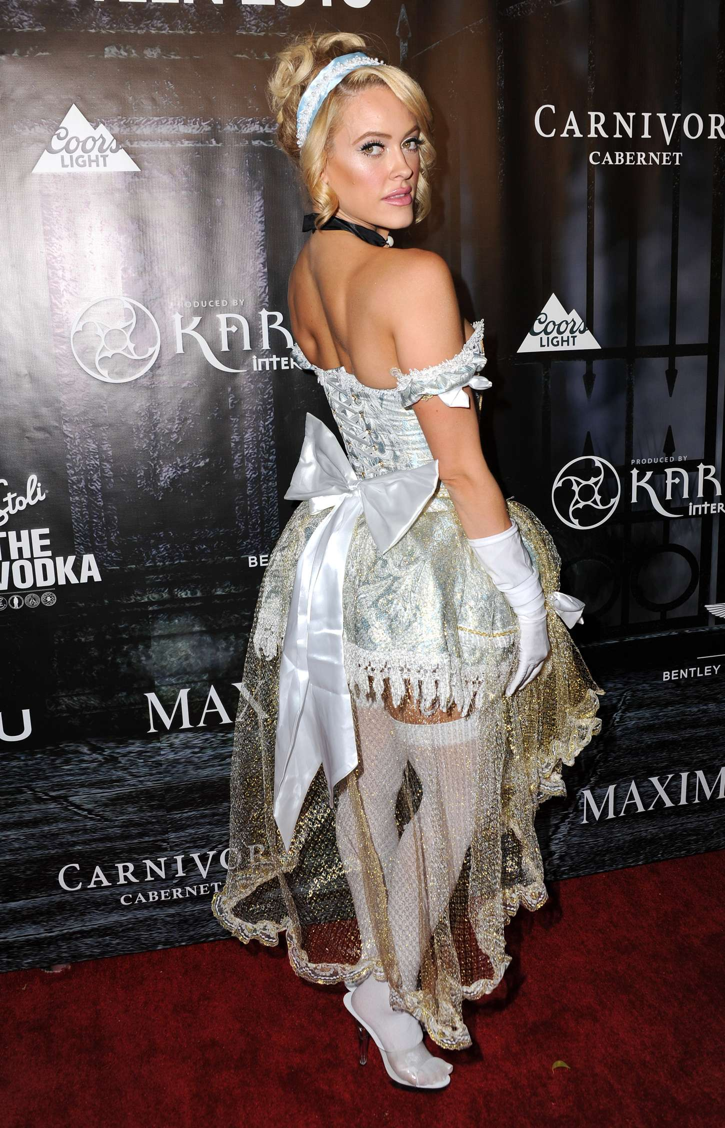 Peta Murgatroyd MAXIM Magazines Official Halloween Party in Beverly Hills