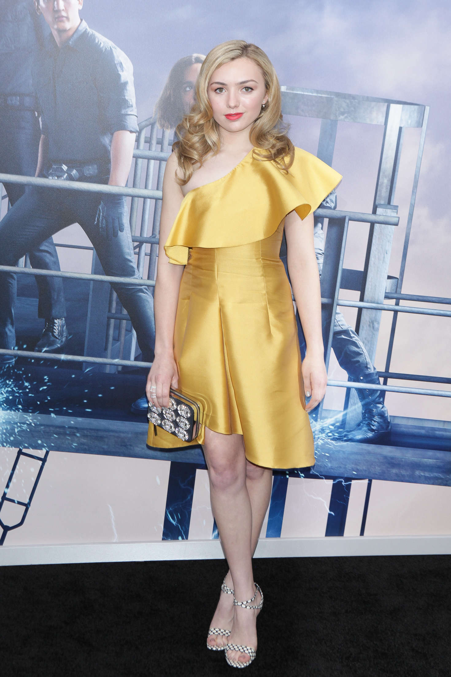 Peyton R List Allegiant Premiere in New York