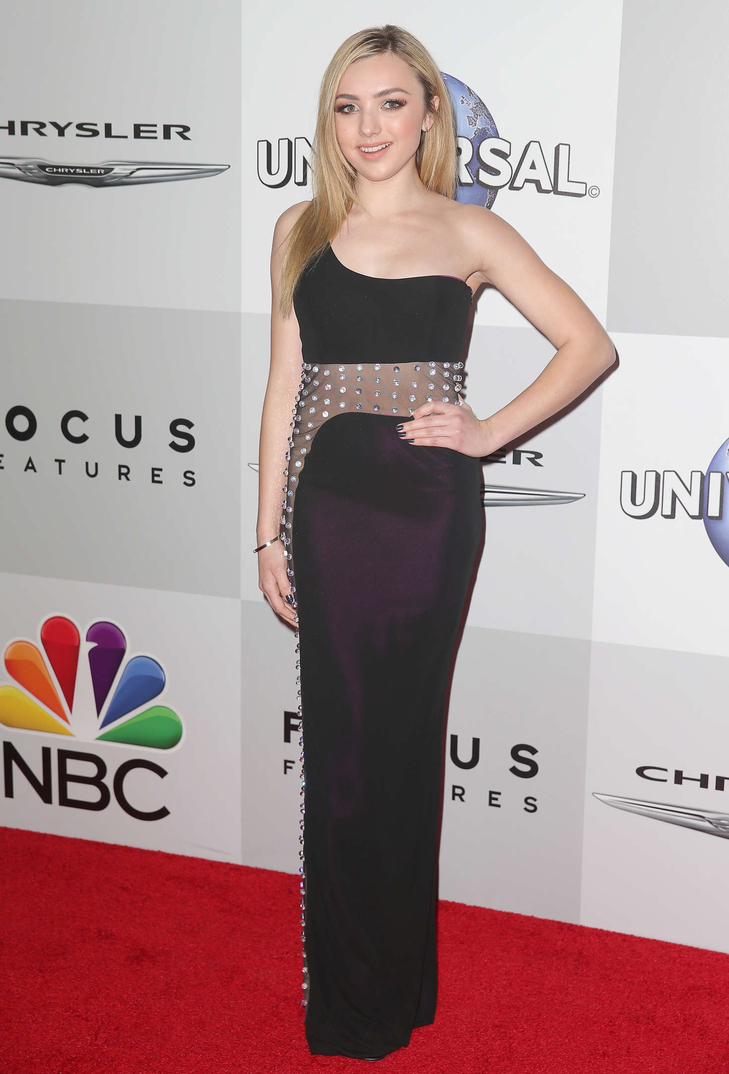 Peyton R List NBC Universal Golden Globes After Party in Beverly Hills
