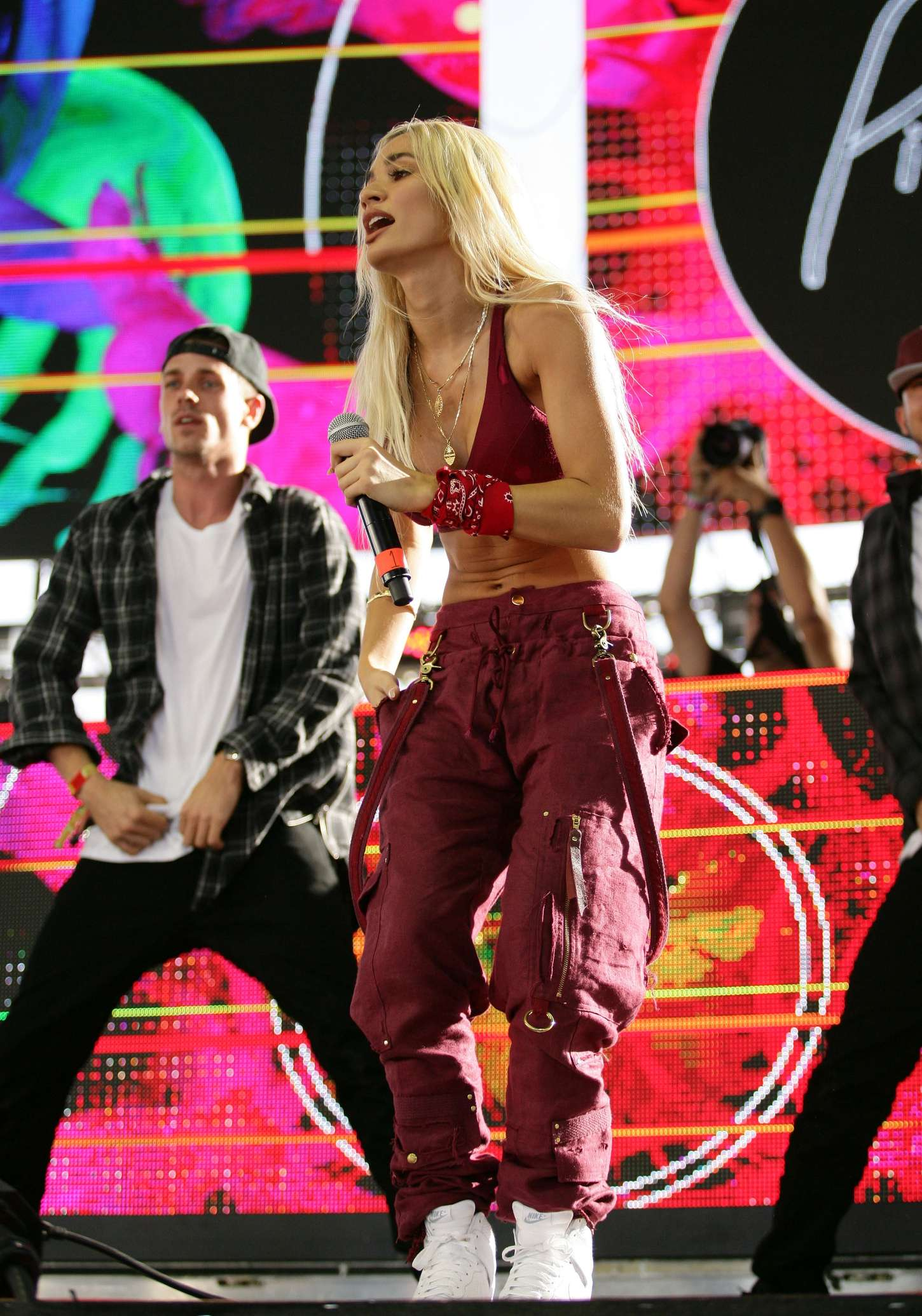 Pia Mia Life Is Beautiful Festival Day in Downtown Las Vegas