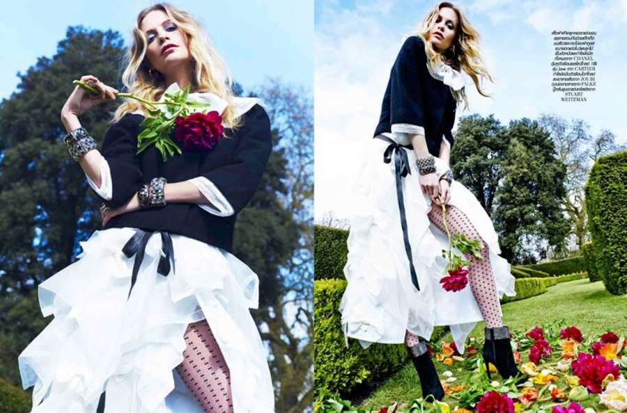 Poppy Delevingne LOfficiel Thailand Magazine