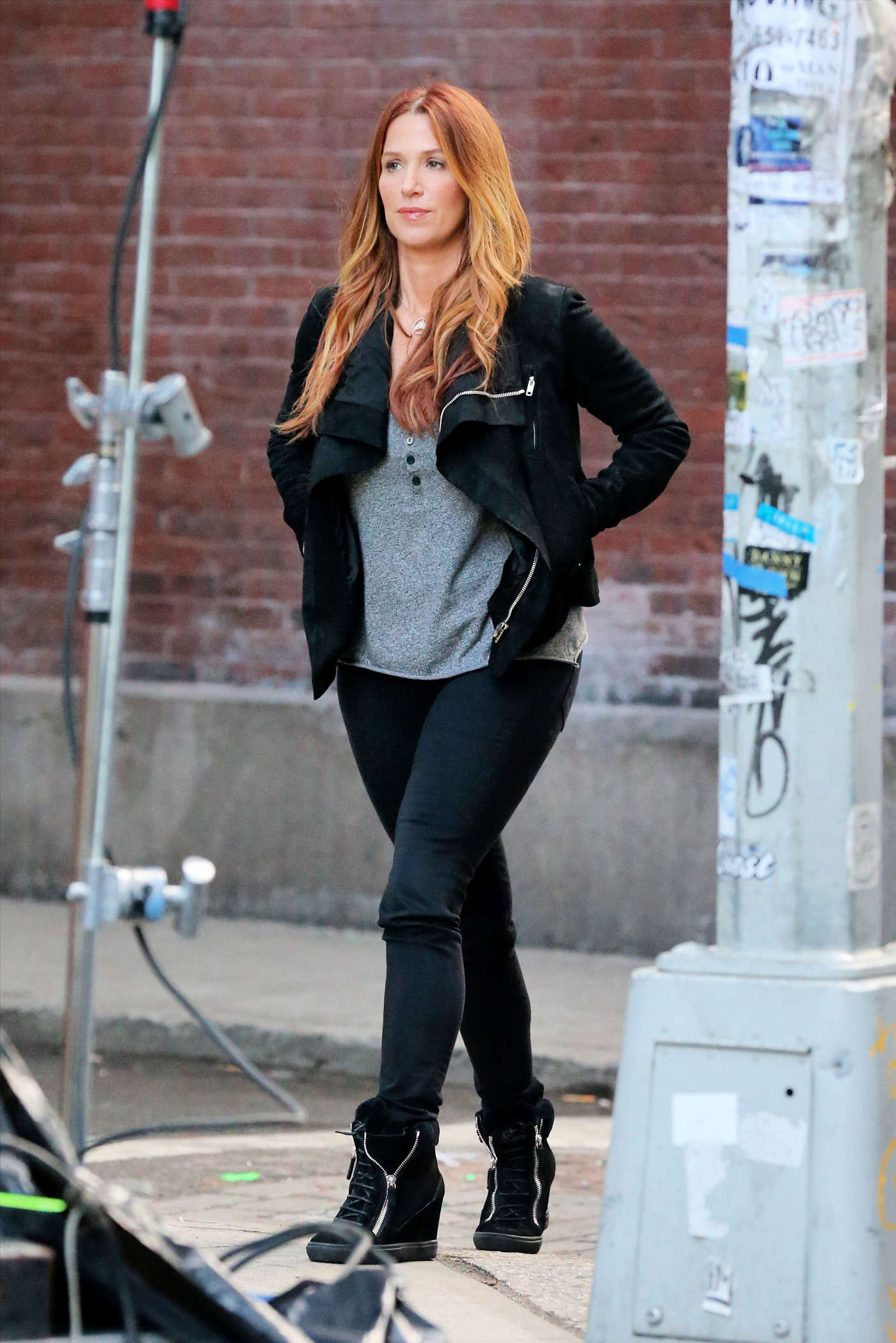 Poppy Montgomery on Unforgettable Set in New York