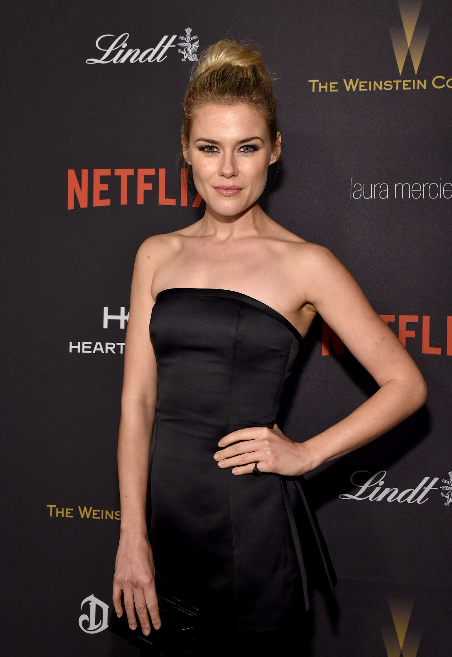 Rachael Taylor Weinstein Company and Netflix Golden Globes After Party in Los Angeles