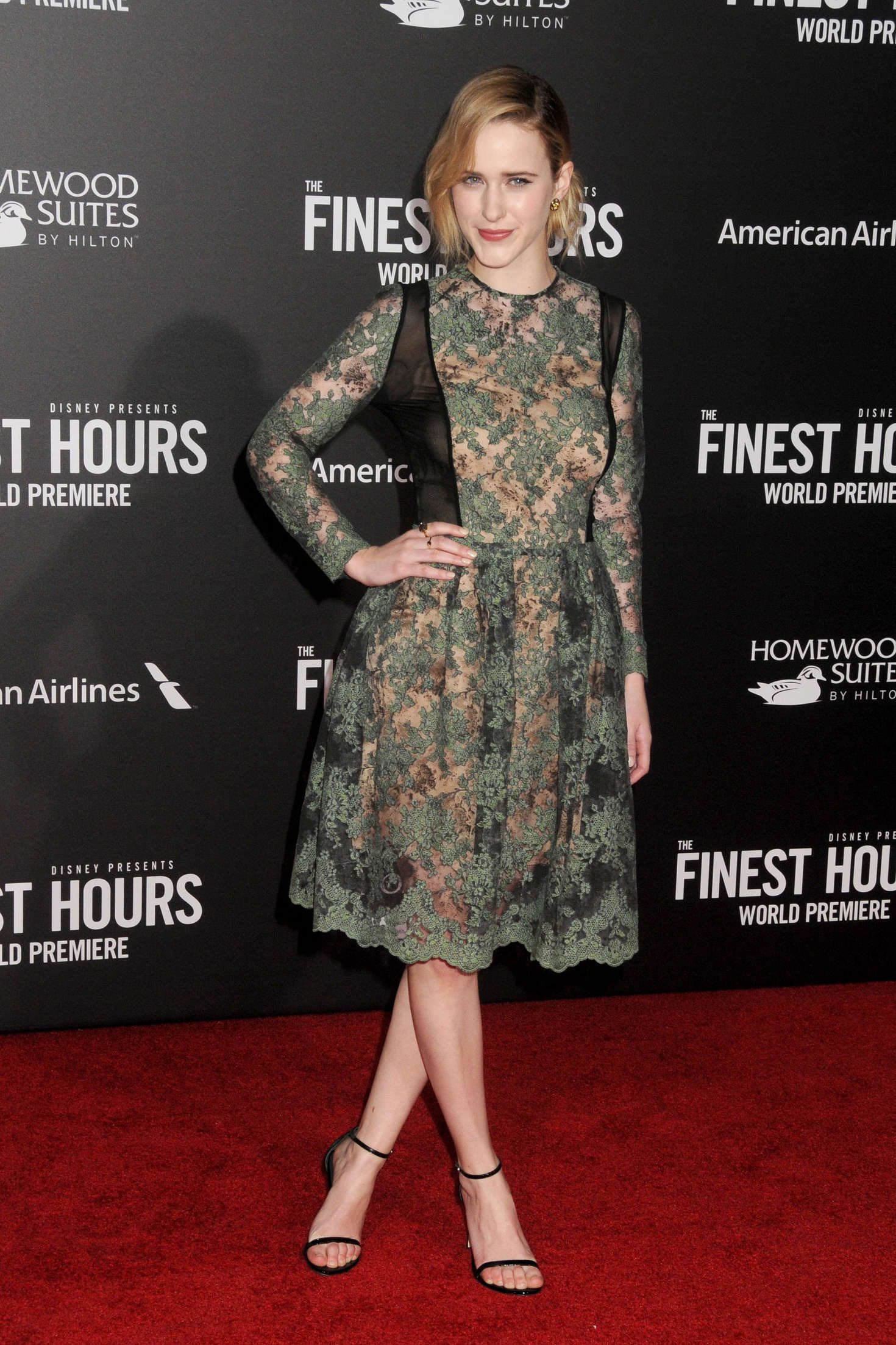 Rachel Brosnahan The Finest Hours Premiere in Los Angeles