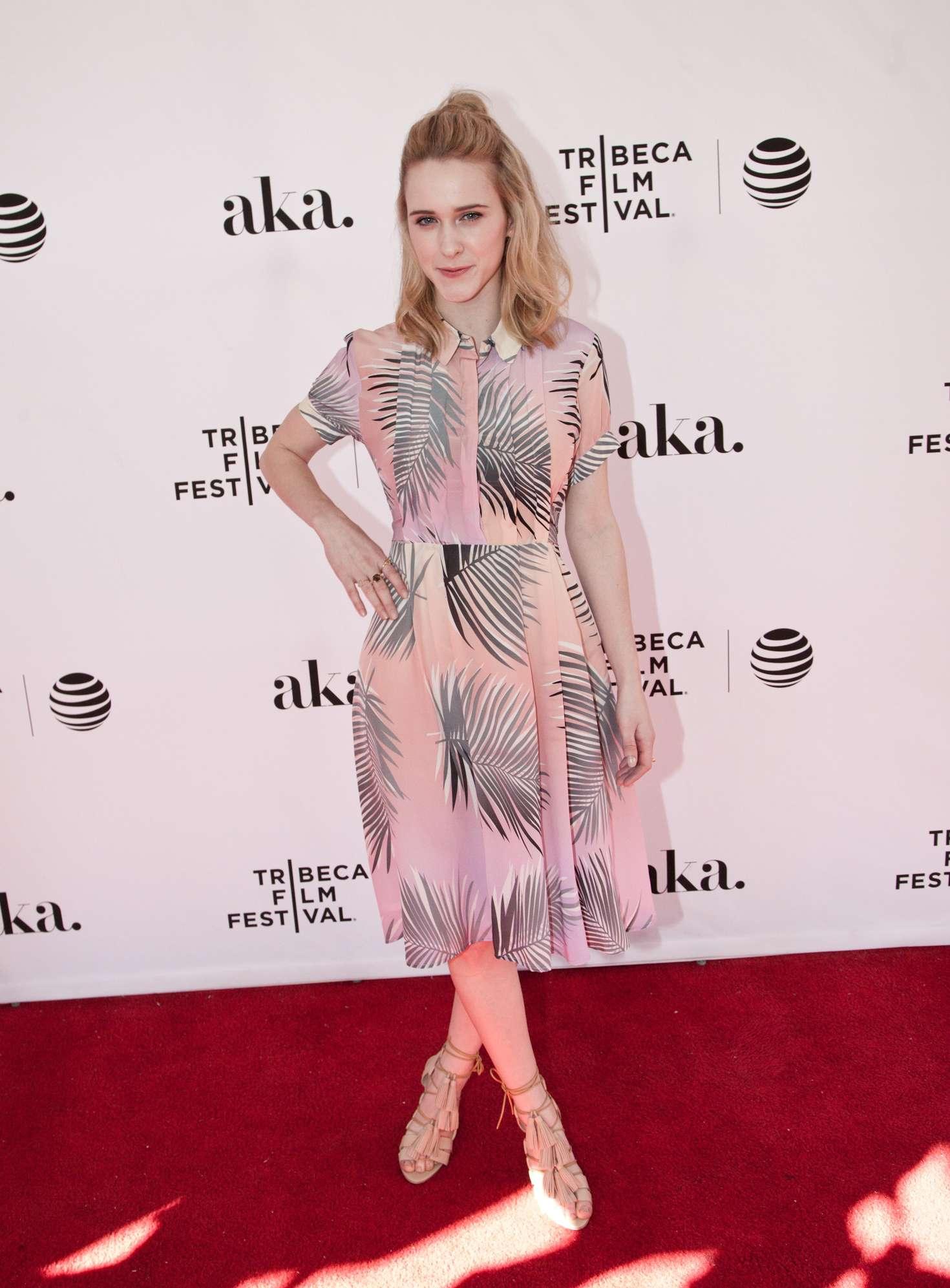 Rachel Brosnahan The Fixer Premiere at Tribeca Film Festival in New York