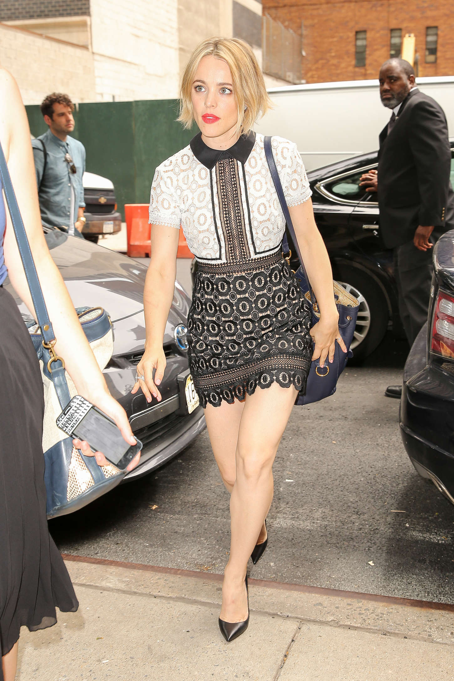 Rachel McAdams at ABC Studios in New York City