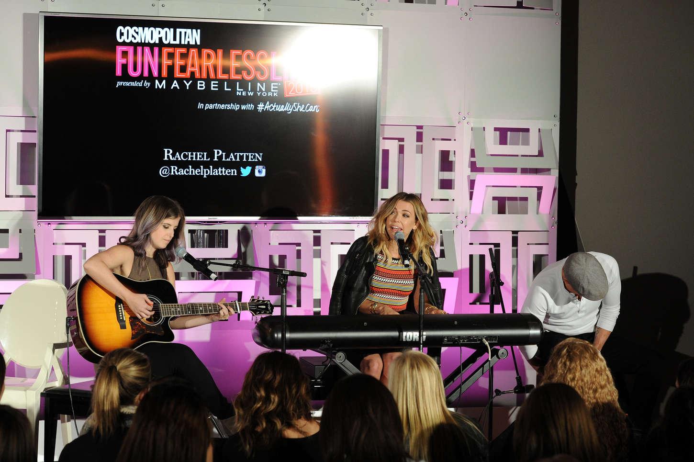 Rachel Platten Cosmopolitan Fun Fearless Life in New York