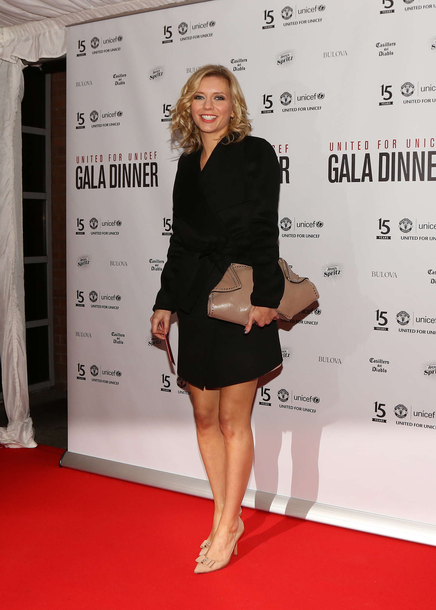 Rachel Riley United for Unicef gala dinner at Old Trafford in Manchester