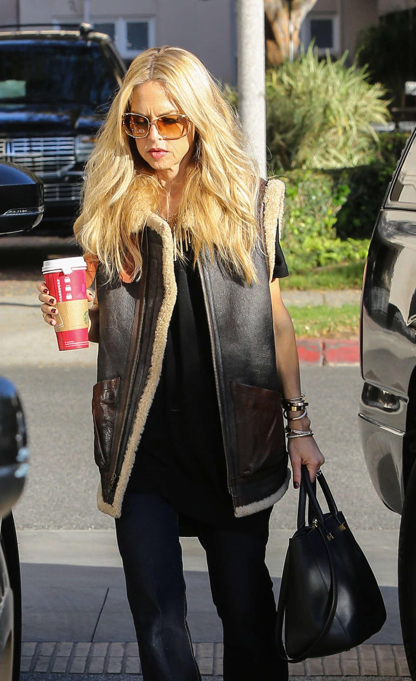 Rachel Zoe Street Style go out in Los Angeles