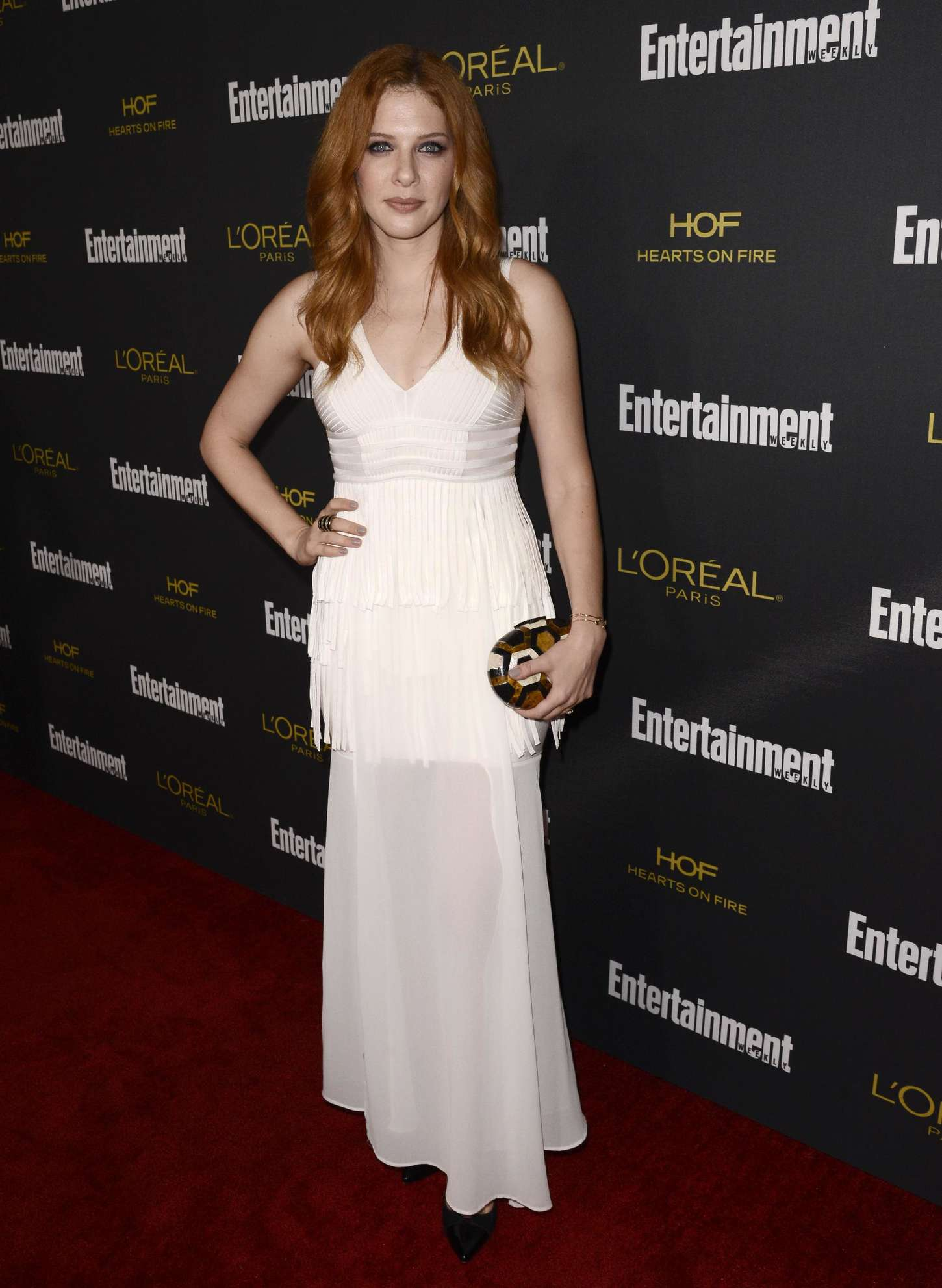 Rachelle Lefevre Entertainment Weeklys Pre-Emmy Party in West Hollywood
