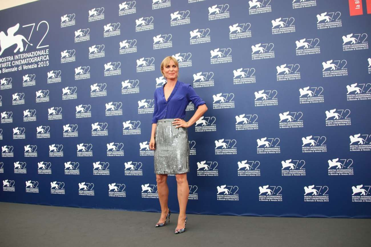 Radha Mitchell Looking For Grace Photocall at Venice Film Festival