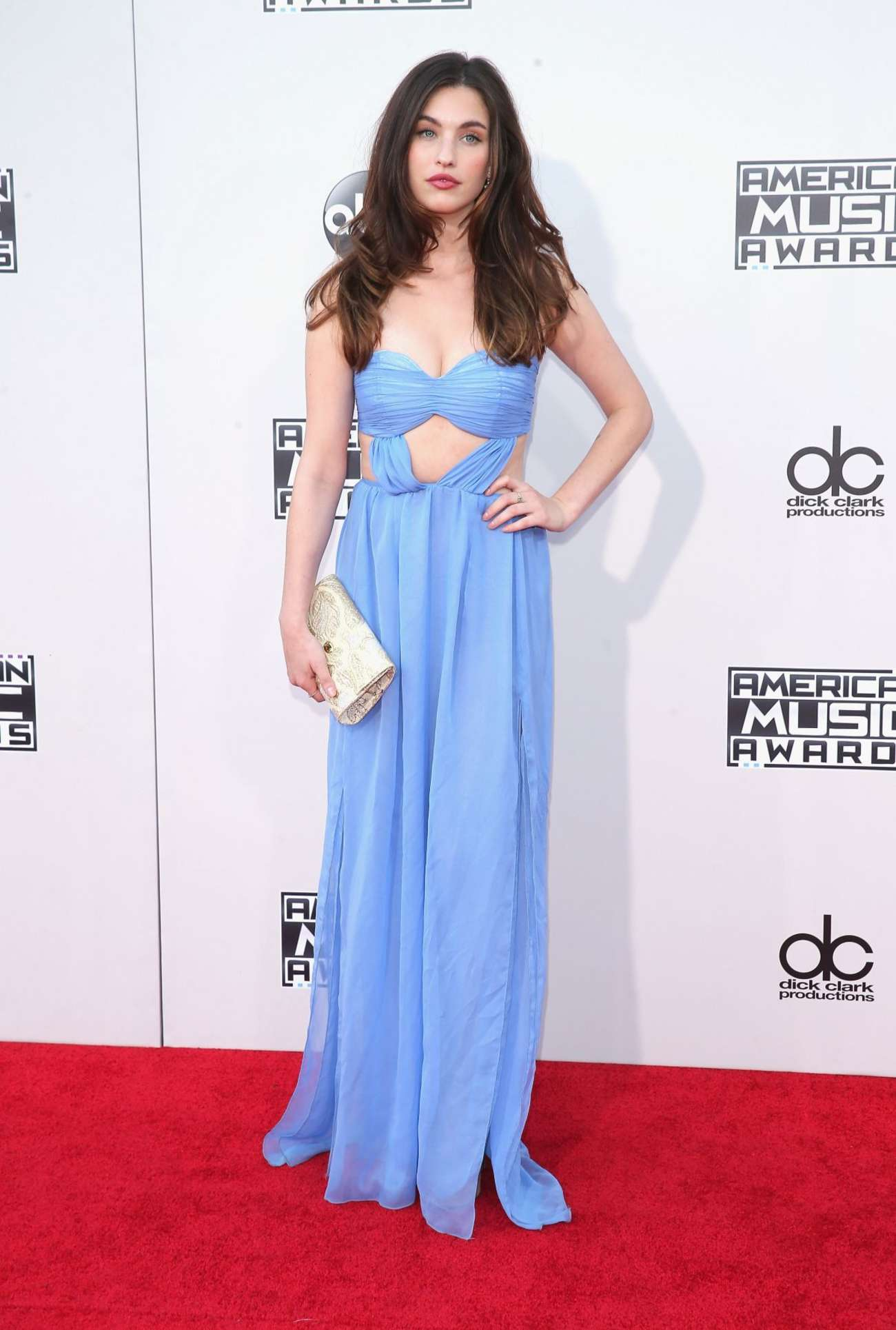 Rainey Qualley American Music Awards in Los Angeles