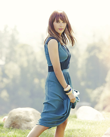 Rashida Jones in Angeleno Magazine August