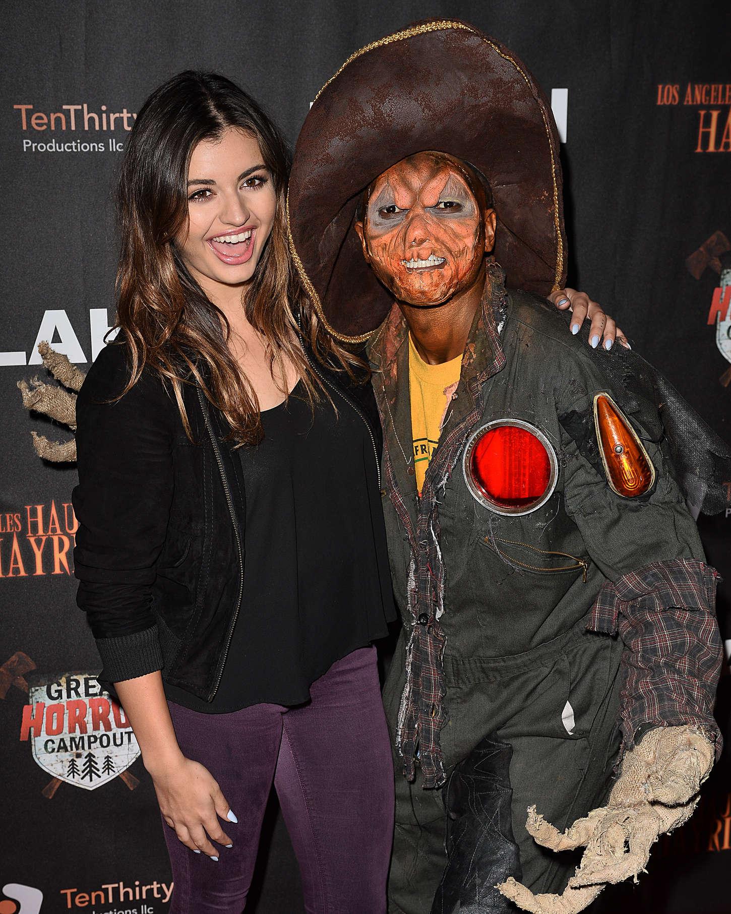 Rebecca Black Los Angeles Haunted Hayride Black Carpet Premiere Night