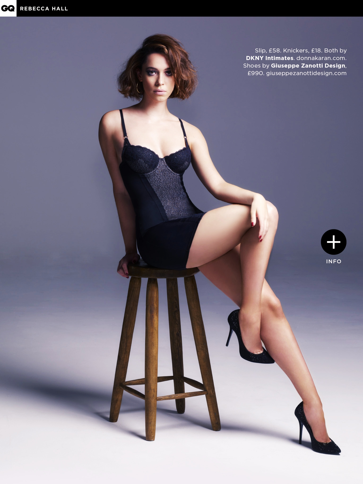 Rebecca Hall GQ UK Magazine