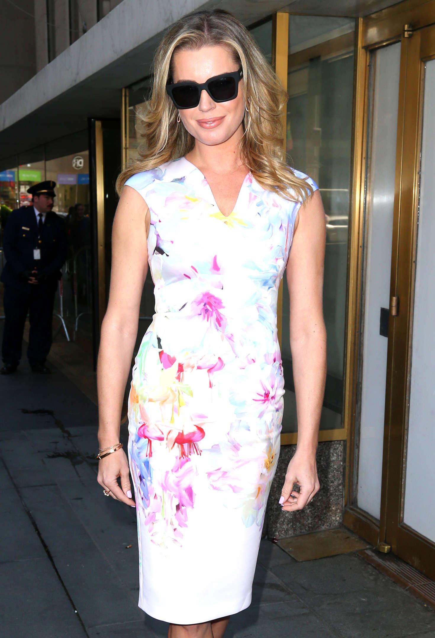 Rebecca Romijn at NBC Studios in New York