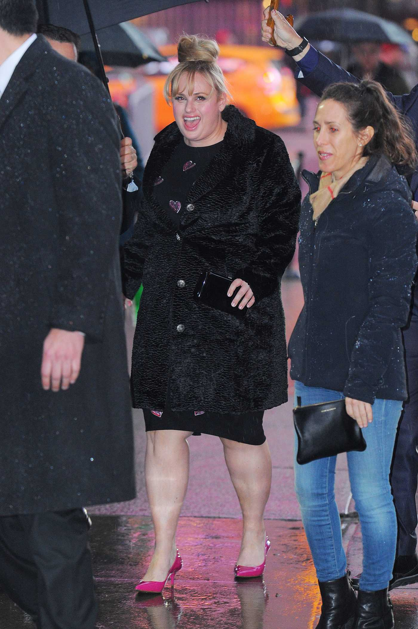 Rebel Wilson Arrives at Good Morning America in New York